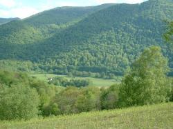 Paysage montagne à Oloron en Haut-Béarn